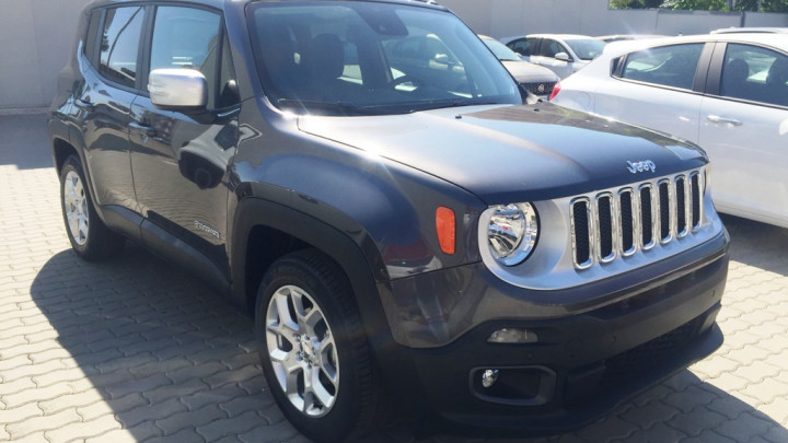 Jeep Renegade Limited Grigio scuro met